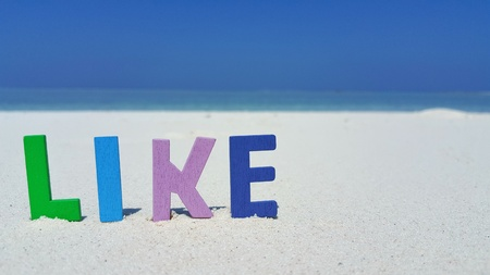 Maldives white sandy beach like text on sunny tropical paradise island with aqua blue sky sea ocean 4k