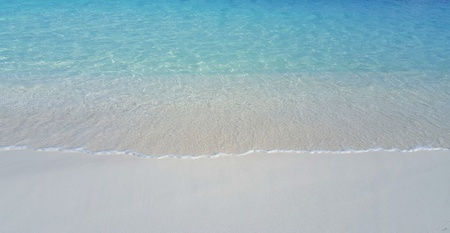 sandbank: P00543 Maldives beautiful white sandy beach background on sunny tropical paradise island with aqua blue sky sea water ocean 4k