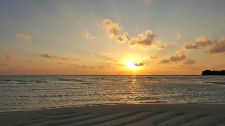 sandbank: Maldives beautiful white sandy beach background sunrise sunset on sunny tropical paradise island with aqua blue sky sea water ocean 4k