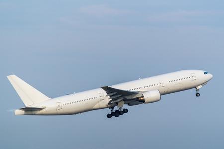 jetplane: Boeing 777-200 Archivio Fotografico