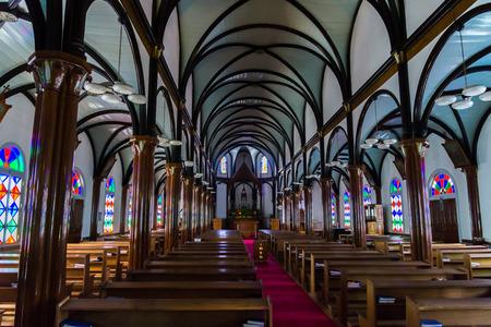nagasaki: Kurosaki Church, Nagasaki Japan Editorial