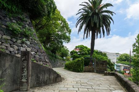oranda: Pendenza olandese (Oranda-Zaka) a Nagasaki, Giappone