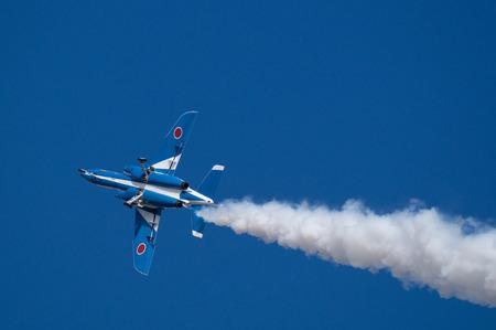 impulse: Demonstration Fl�ge von Blue Impulse Akrobat Team
