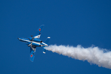 impulse: Demonstration Flights of Blue Impulse acrobat team Editorial