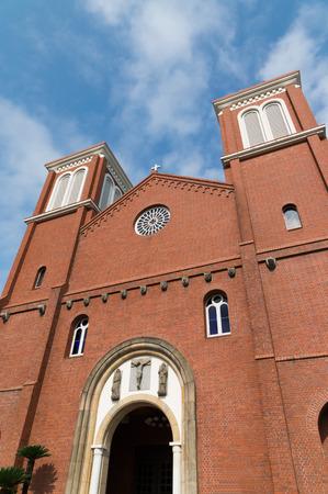 nagasaki: Urakami Cathedral in Nagasaki, Japan