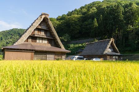 gokayama: Gassho-Zukuri Gassho-style Houses in Suganuma area of Gokayama, Japan