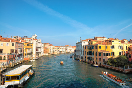grand canal: Grand Canal on Venice Stock Photo