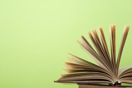 hardback: Open book, hardback books