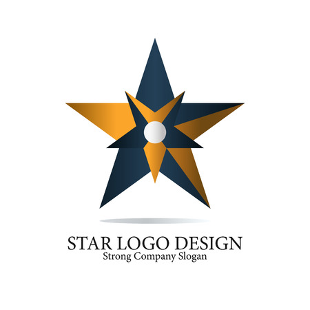 Star Vector icon element for branding