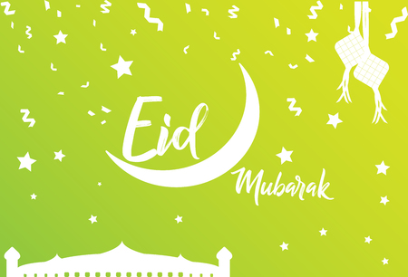 Vector ramadan greetings background illustration