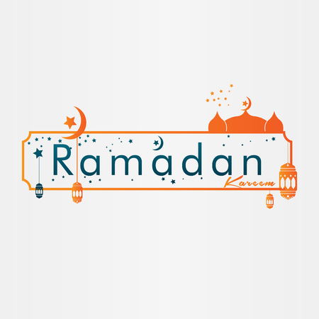 Vector ramadan greetings background illustration