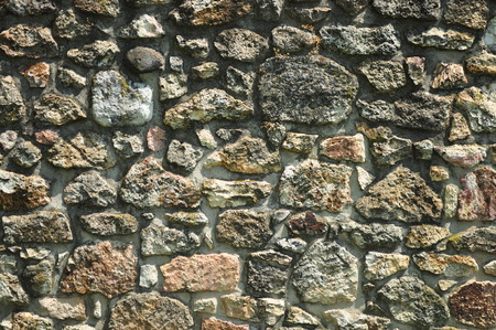 Old castles stonewall wall texture