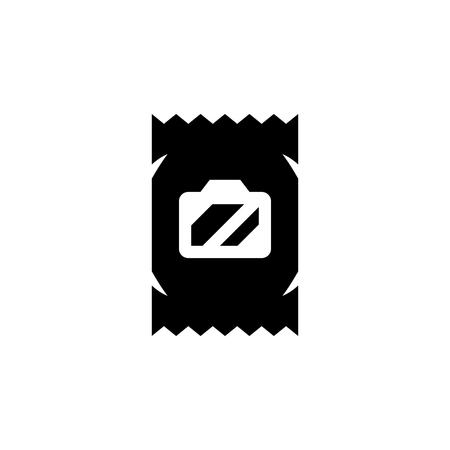 icon: Wet wipes packing icon Illustration