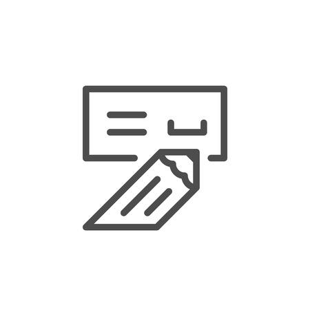 Check line icon