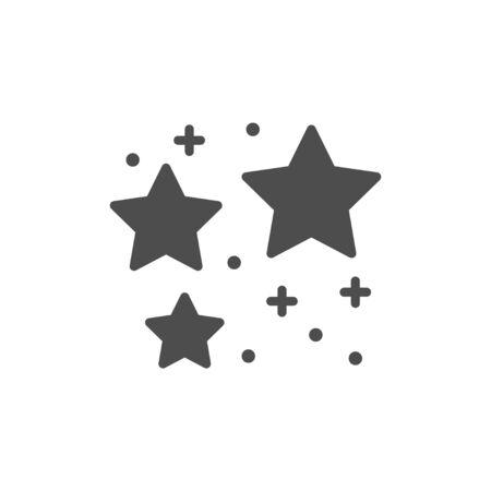 Stars icon and magic concept Stock Illustratie