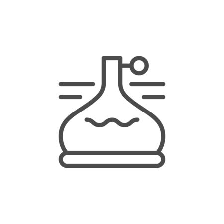 Beer fermentation line outline icon Çizim
