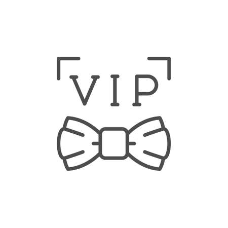 VIP or very important person icon 向量圖像