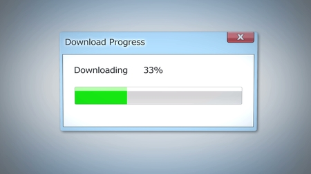 Slow downloading of pirated content, outdated operating system, dialog window