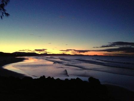byron: Sunset at Byron Bay