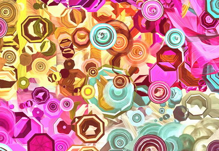 Vintage style abstract background