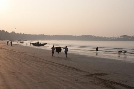 goan morning beach