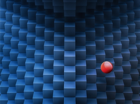 abstract cubes pattern 3d-generated background