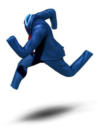 Running suit  Metaphor of business