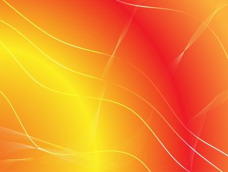 discrete: Yellow-red background