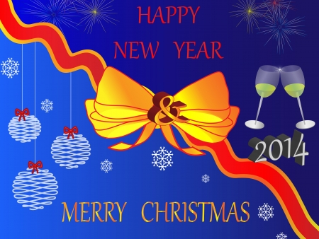 New Year s Vector