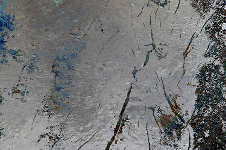 metalic: metalic mingles with nature Stock Photo