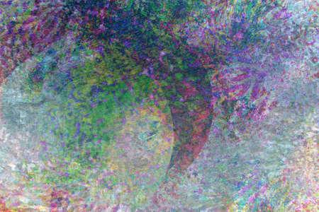 separating: separating shapes digital painting background  Stock Photo