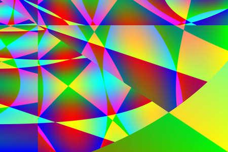 bright color digital art abstract background Zdjęcie Seryjne