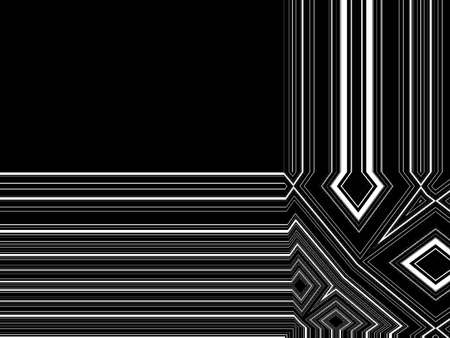 black and white graphic lines background Stock fotó