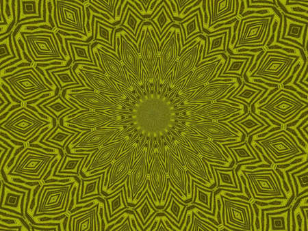 gold and brown kaleidoscope tribal shapes background
