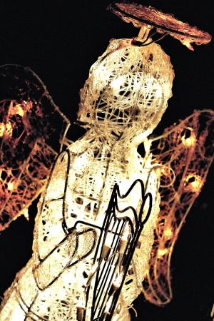electric light angel Banco de Imagens