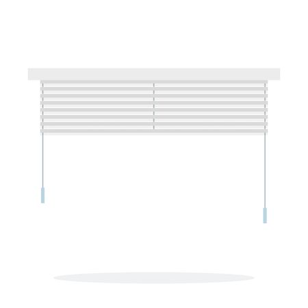 Open window blinds