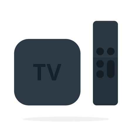 Set-top box with remote control