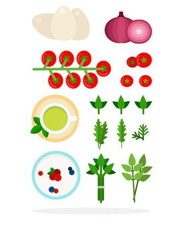 Stems of asparagus Иллюстрация