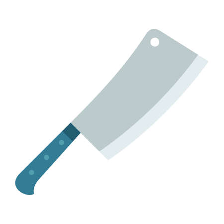 Meat ax vector object. Isolated illustration. Illustration