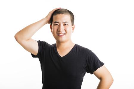 hair short: Capelli corti uomo asiatico