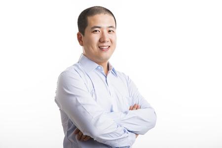 Short hair asian man,28 years old. photo