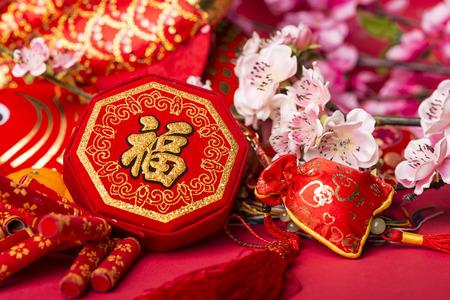 decor: Chinese new year
