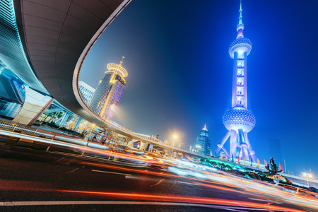 Shanghai Oriental Pearl Tower Editorial