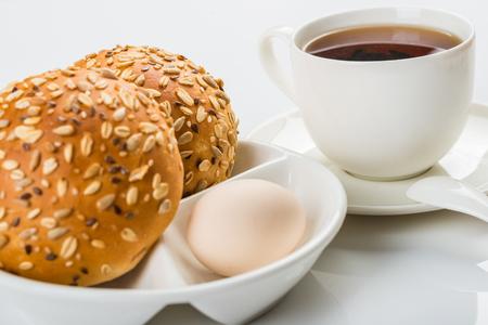 energy needs: Western style meal Stock Photo