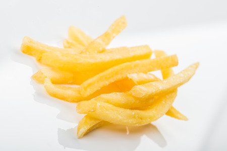 necessities: French fries close up view