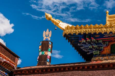 Tashi Lhunpo Monastery Stock Photo