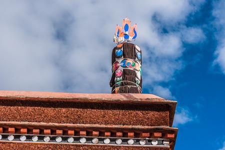 Tashi Lhunpo Monastery eaves
