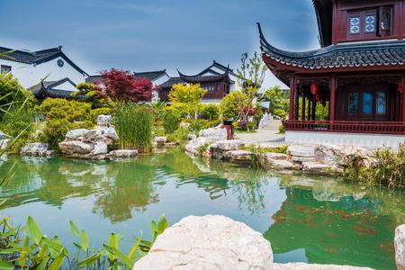turismo ecologico: patio jardín antiguo