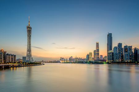 provincial tourist area: Guangzhou sunset