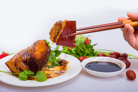 rou: Braised Pork Belly - Dong Po Rou
